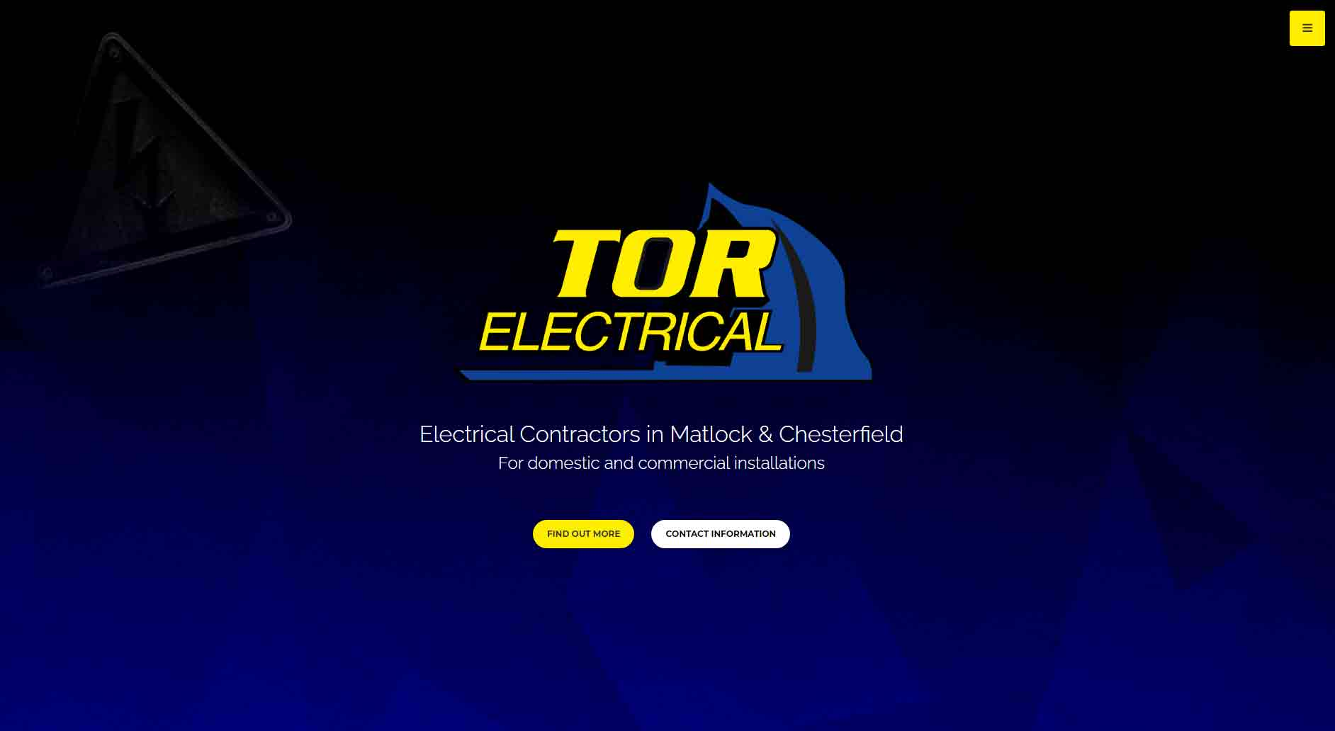 Tor Electrical by Cecil Web Designs
